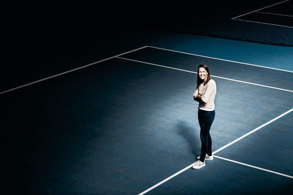 Justine Henin: 'Ik heb heel mijn leven afgezien en ervan genoten, maar vandaag interesseert het me niks meer. Zelfs wanneer ik tijdens het lopen voel dat ik een beetje in het rood ga, stop ik.', belgaimage
