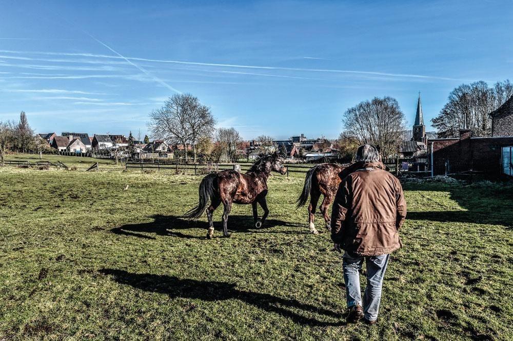 Herman De Croo: 'Ik werk zeven dagen op zeven, maar ik ga wel elke week een paar uur paardrijden.', KOEN BAUTERS