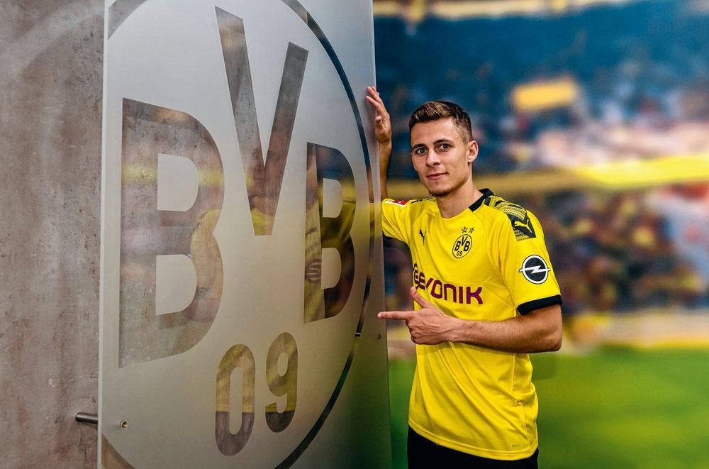 Als een van de weinige Rode Duivels weet Thorgan Hazard al zeker waar hij volgend seizoen speelt: bij Borussia Dortmund., belgaimage