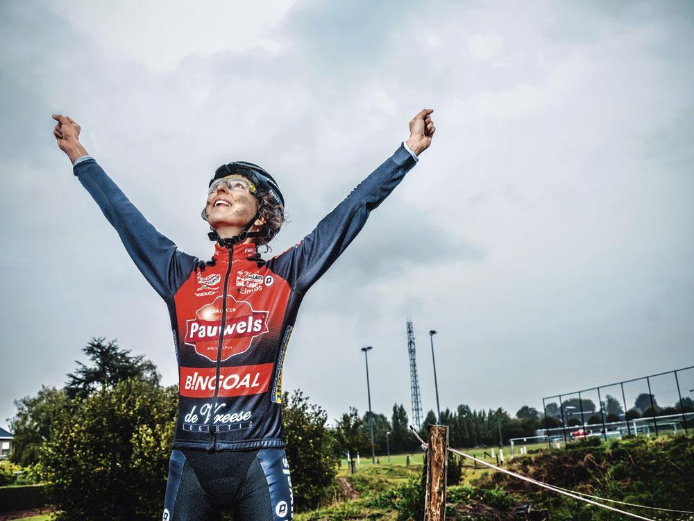 "Jolien Verschueren: "" Personne ne peut me dire si je gagnerai encore le cross du Koppenberg. "", INGE KINNET"