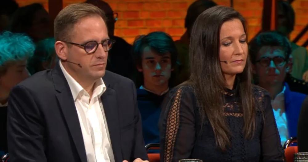 Johan Gysel en Griet Depreitere., Screenshot VRT