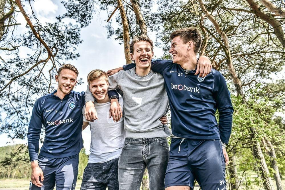 Quatre garçons dans le vent., KOEN BAUTERS