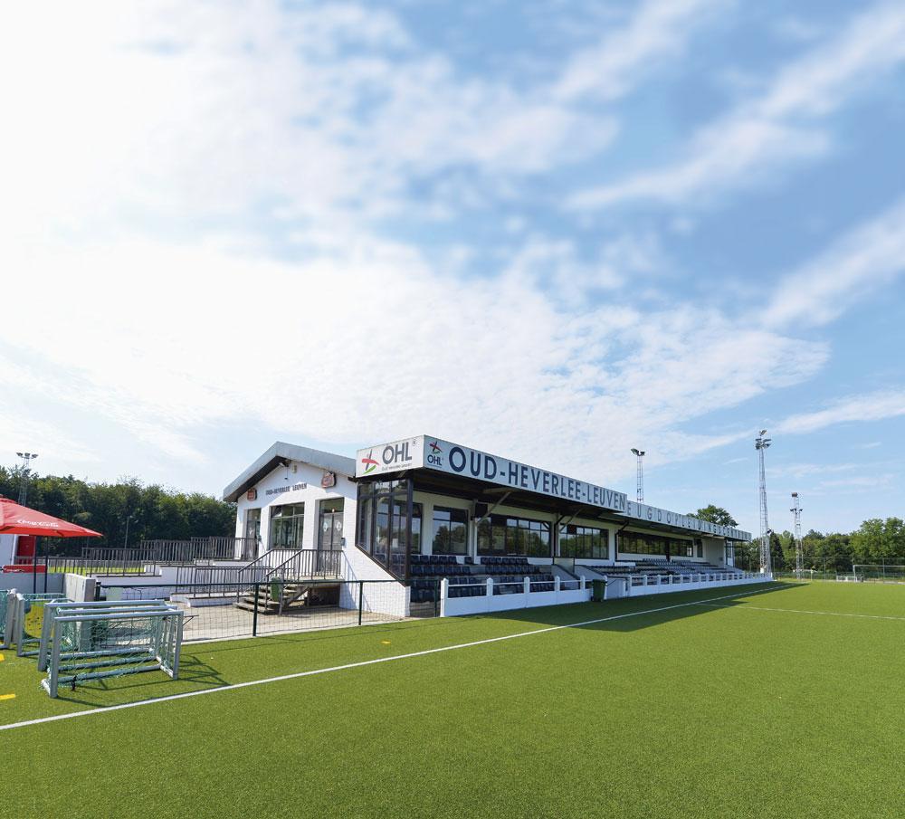Het jeugdopleidingscentrum van OHL dat ook door de vrouwenafdeling wordt gebruikt., BELGAIMAGE