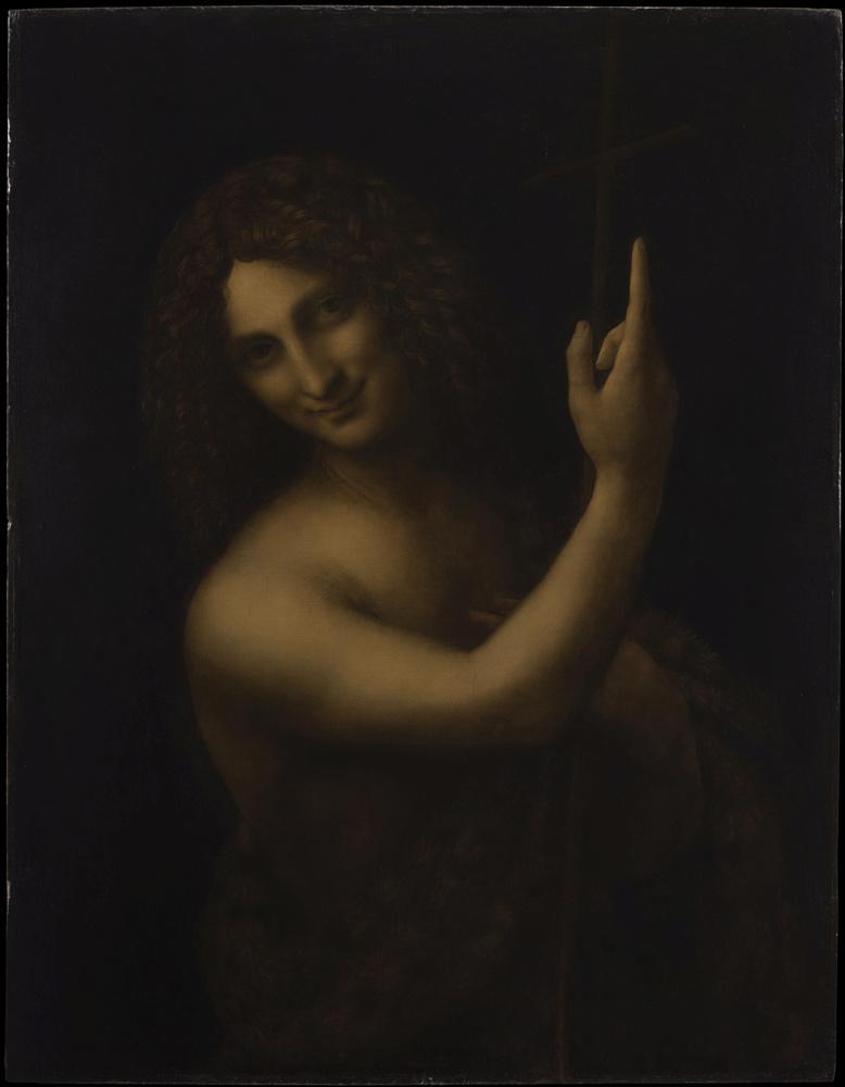 Saint Jean Baptiste, RMN Grand Palais musee du Louvre Michel Urtado