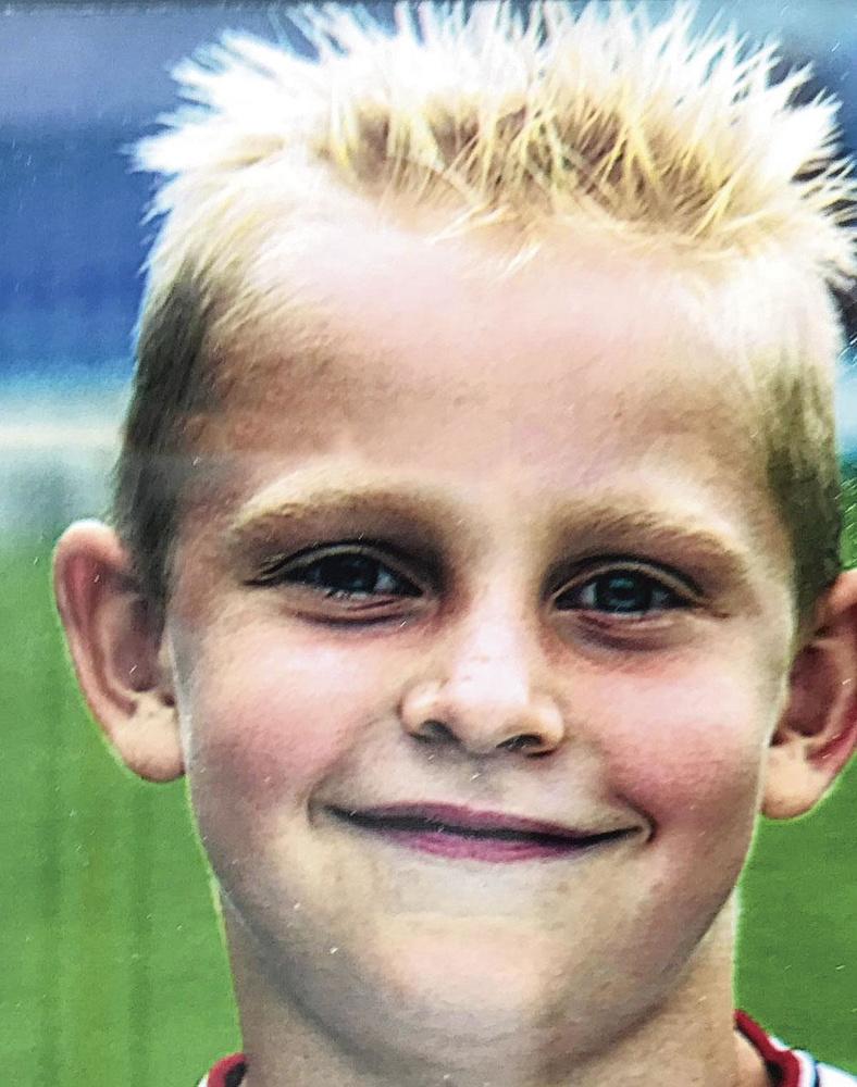 Frenkie de Jong à ses débuts en classes d'âge de Willem II., VI IMAGES