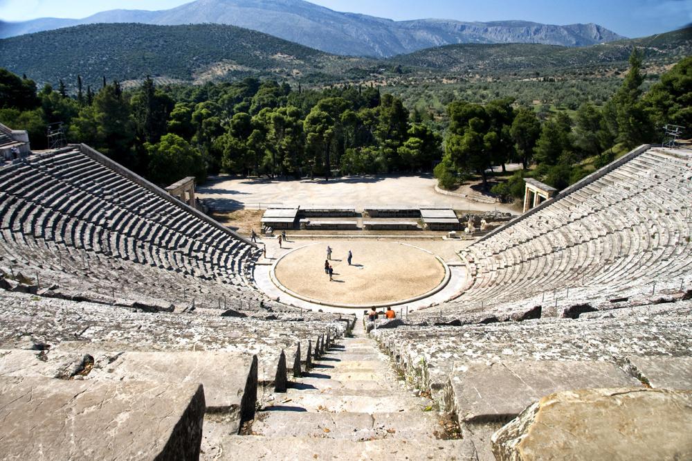 Epidaure et son théatre antique, Getty Images