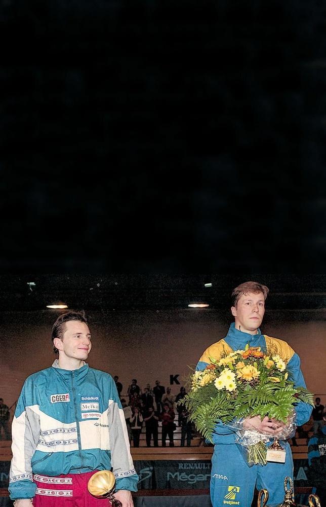 Jean-Michel Saive en Jan-Ove Waldner, tijdgenoten, concurrenten en vrienden., BELGAIMAGE