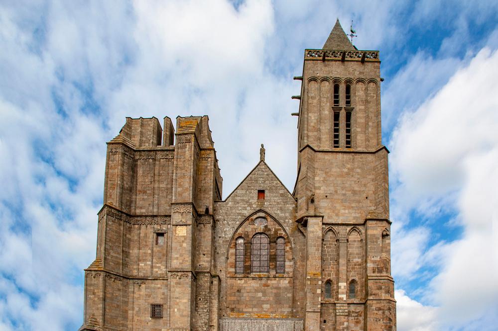 La cathédrale de Dol-de-Bretagne, Getty