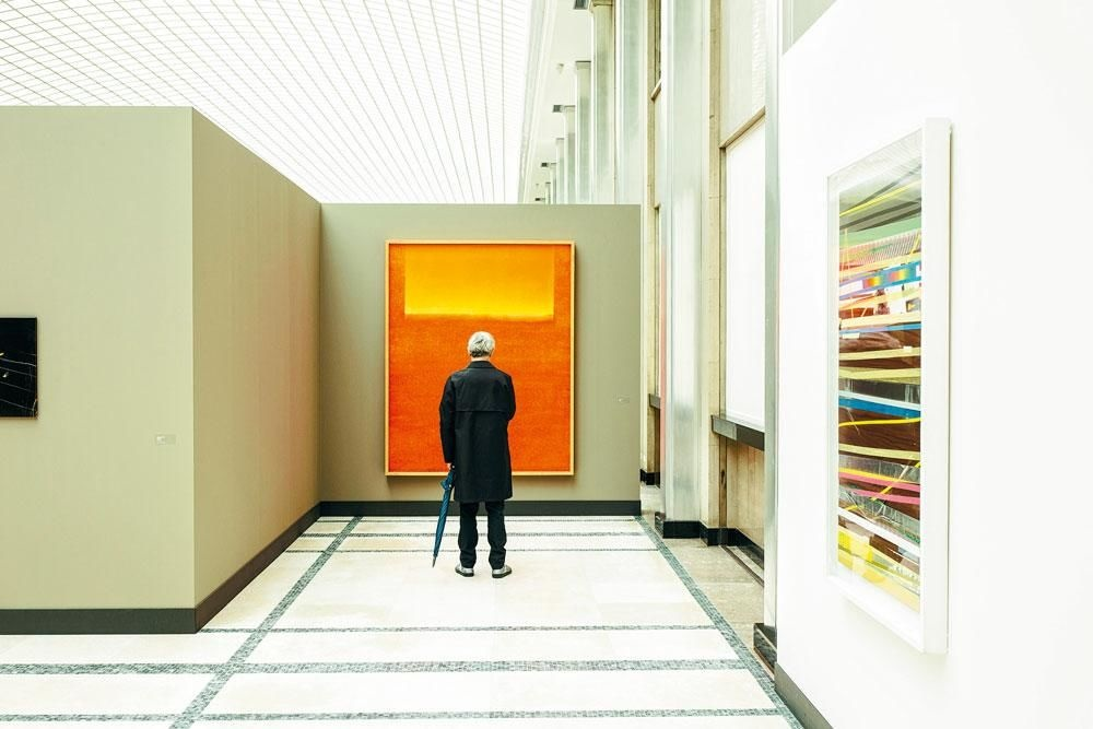 """NATIONALE BANK VAN BELGIË """"Onze collega's uit Frankfurt staan versteld van de durf van onze collectie."""", franky verdickt"""
