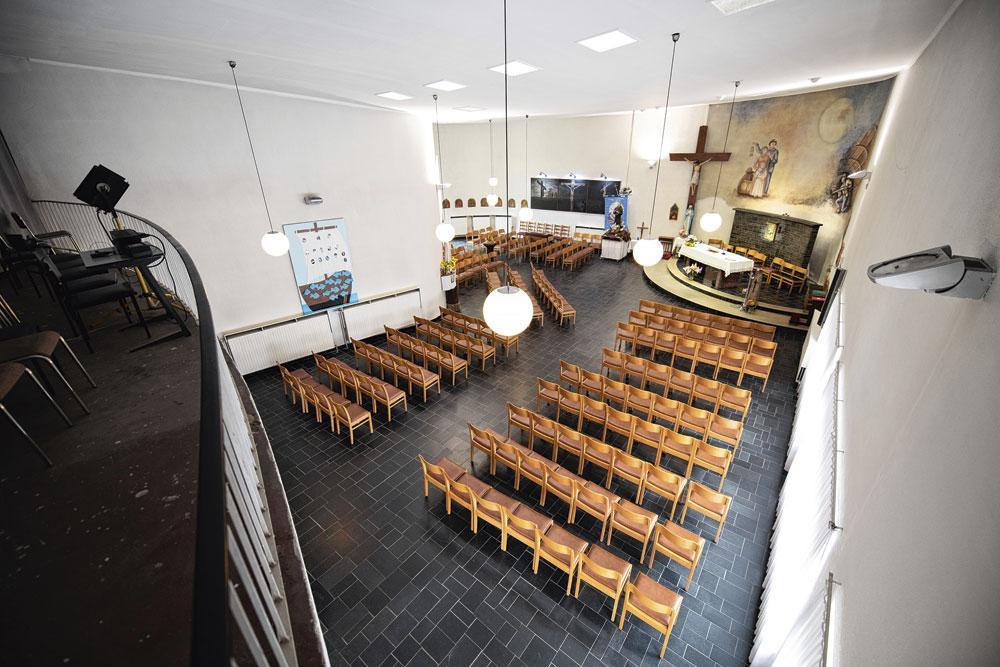 De Italiaanse kerk in de Risstraat., belgaimage