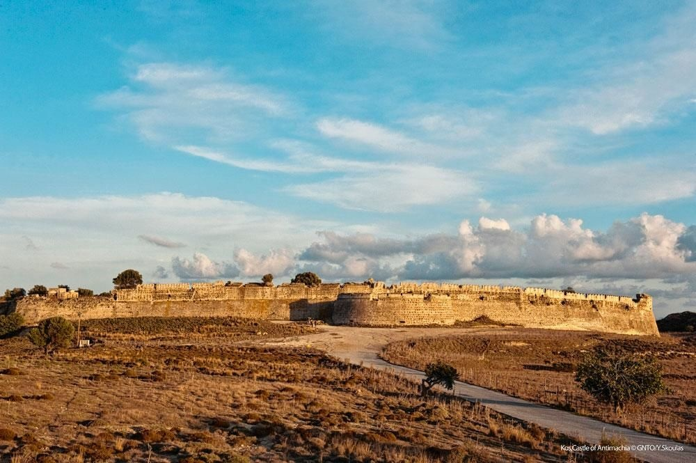 L'ancienne forteresse vénitienne d'Antimachia., SDP