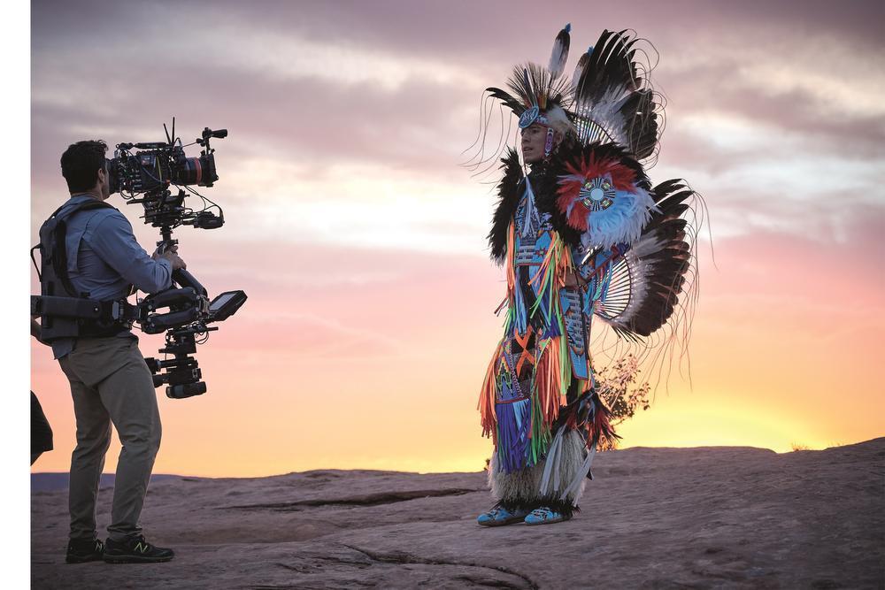 """Un tournage sous la haute surveillance d'un comité de """"natives"""", Eric Guillemain pour Parfums Christian Dior"""