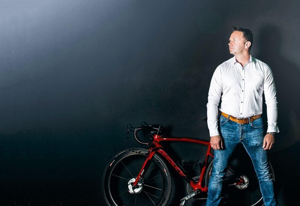 """JOEP KEMPEN """"De fietsleasesector staat of valt met de plaatselijke fietshandelaar."""", debby termonia"""