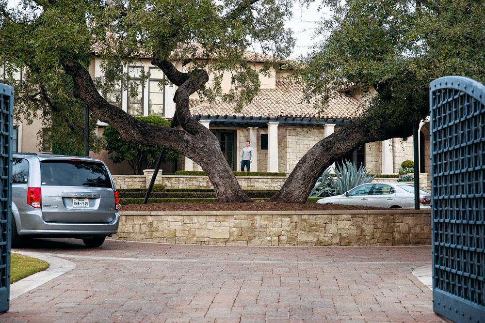 La maison de Lance Armstrong au Texas., GETTYa