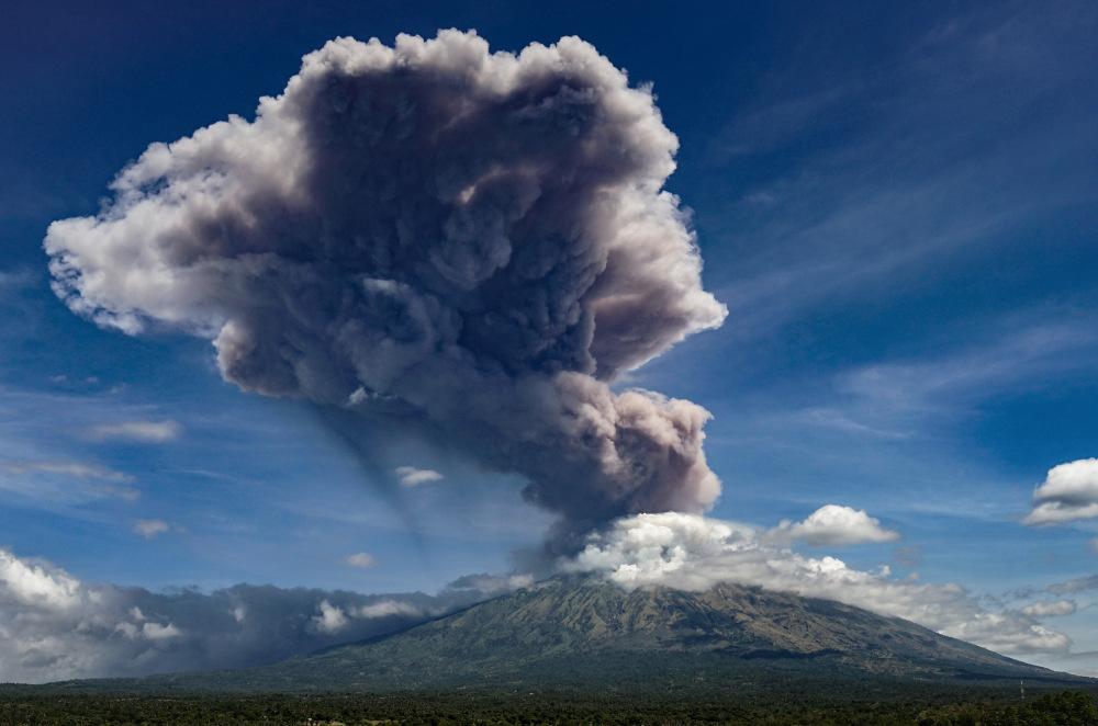 Mount Agung, AFP