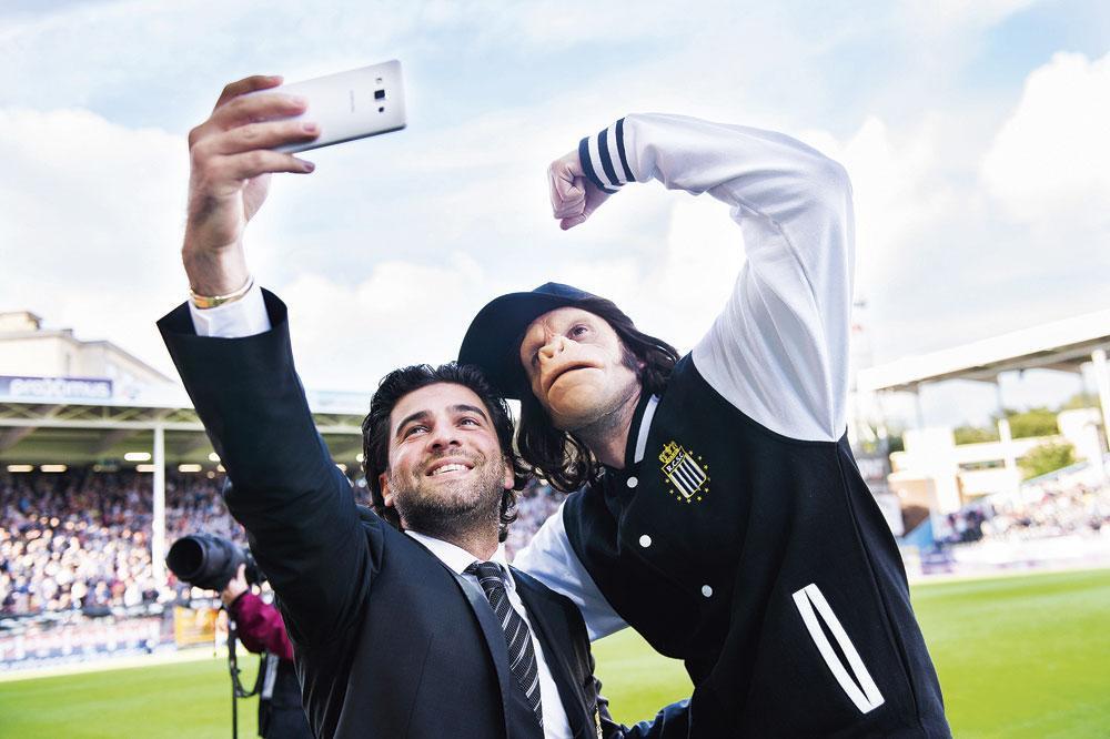 Even lachen voor de selfie!, belgaimage