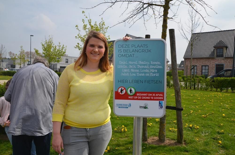 Ann-Sophie Lammertyn nam mee het initiatief voor de campagne op Bistierland., BR