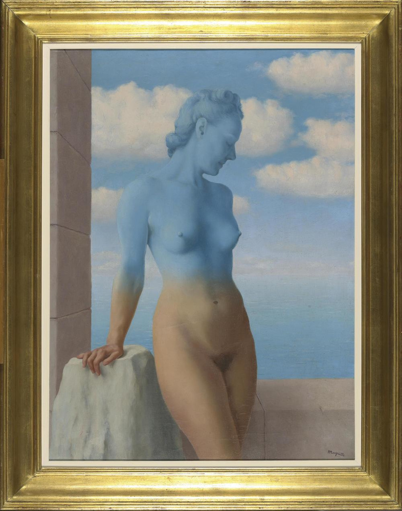 René Magritte, De zwarte magie, 1949, olieverf op doek, inv. 10706, KMSKB, Brussel, KMSKB, Brussel: J. Geleyns / Ro scan