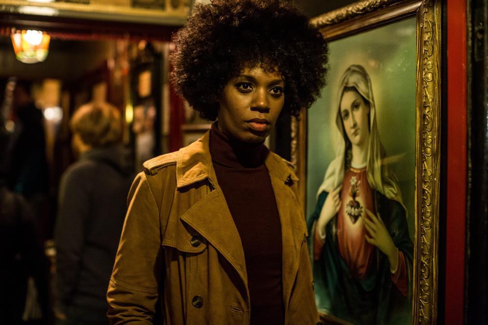 Jasmine Sendar in de rol van een rechercheur uit Rotterdam., © VRT - Nyklyn, Column, Eyeworks