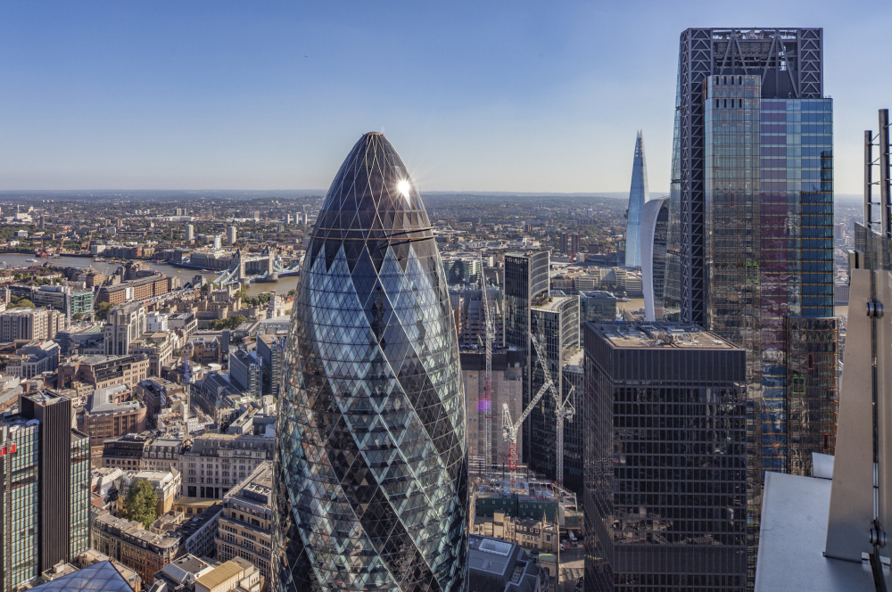 The Gherkin buitenkant, Getty Images