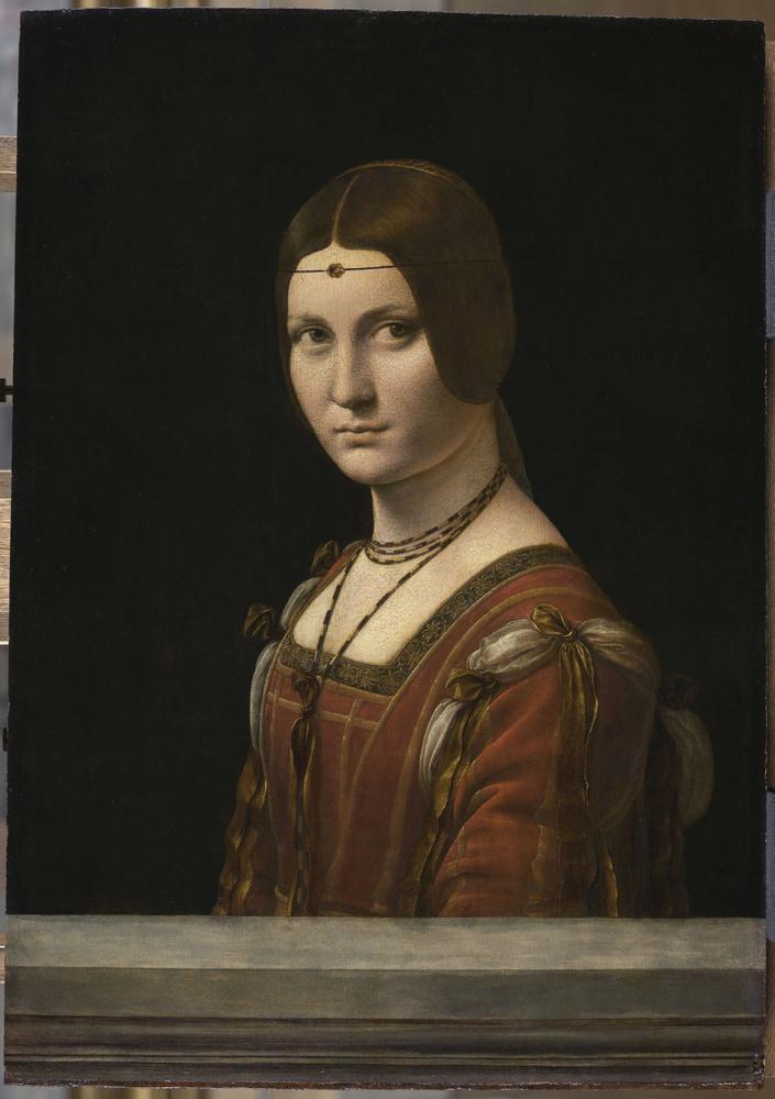 'Portrait d'une dame de la cour de Milan', dit à tort 'La Belle Ferronnière', vers 1490-1497, RMN-Grand Palais (musée du Louvre)/ Michel Urtado
