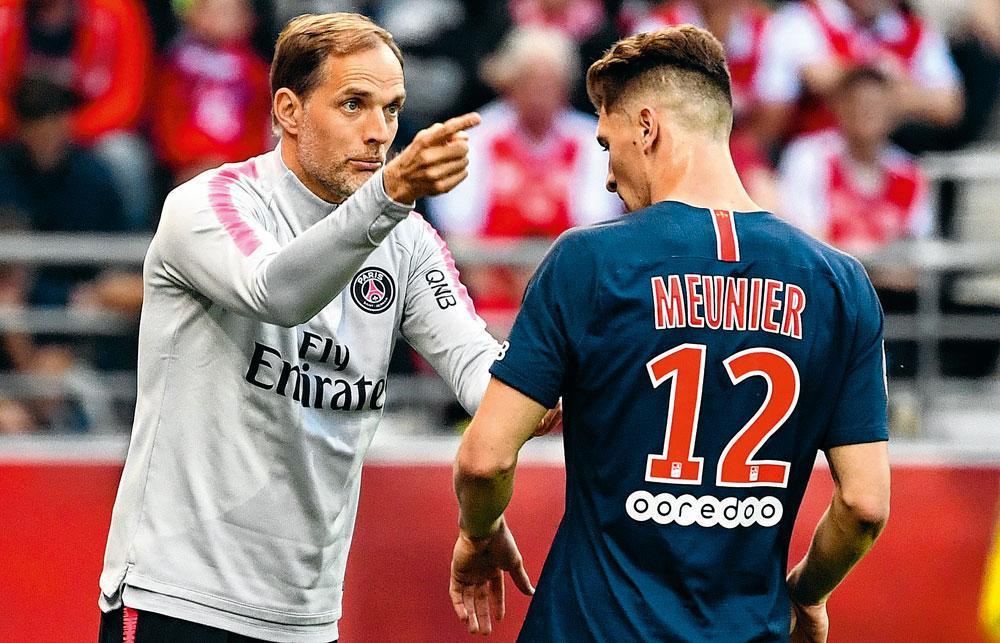 Thomas Meunier droomt van een overstap naar Manchester United., belgaimage