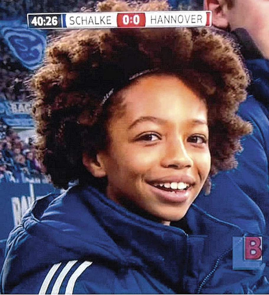 Al op zijn tiende was Leroy Sané erg volwassen voor zijn leeftijd., belgaimage
