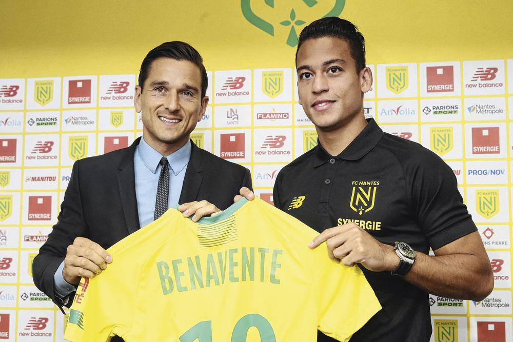 Cristian Benavente, l'un des nombreux transferts nantais orchestrés par Mogi Bayat., BELGAIMAGE