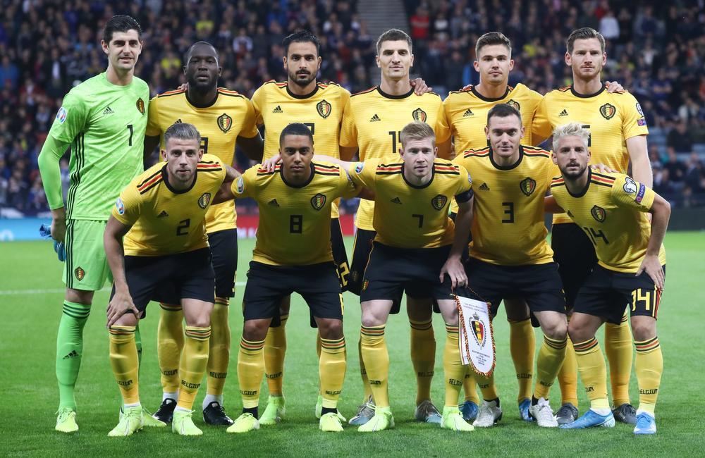 Leander Dendoncker speelde de hele wedstrijd voor België., BELGA