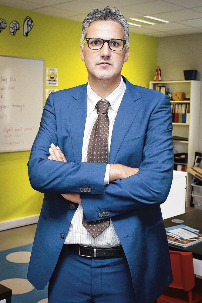 Andy Matthijs, tot voor kort een soort van minibondsprocureur én de ex-werkgever van Veljkovic' partner, 'kan helpen om de mensen van de zitting positief te inspireren', zo meldt een pv over het Beqirajdossier., PHOTONEWS