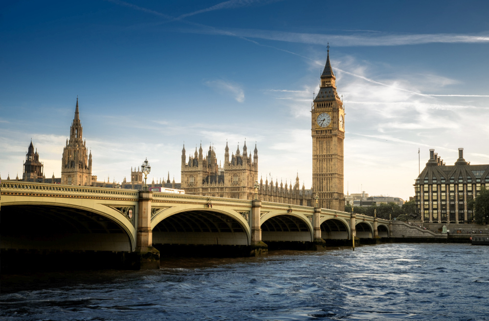 Elizabeth Tower met daarin de Big Ben, Getty Images