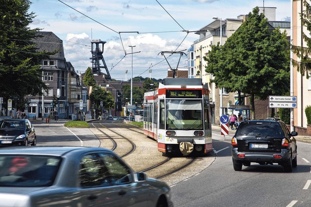 Nichée entre Essen et Dortmund dans la Ruhr, Wattenscheid s'est fortement appauvrie depuis son absorption par Bochum., BELGAIMAGE
