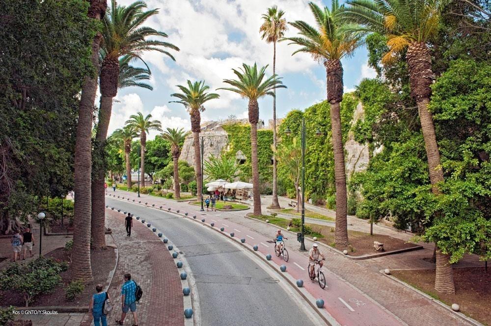 Le vélo est partout, et les pistes sont très bien balisées., SDP