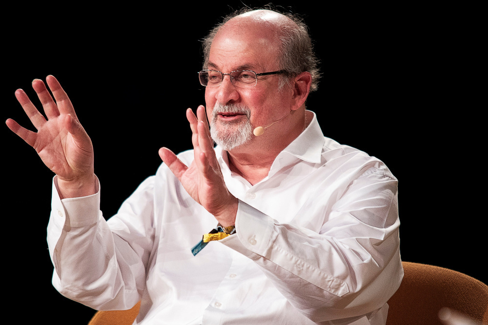 Salman Rushdie, Reuters