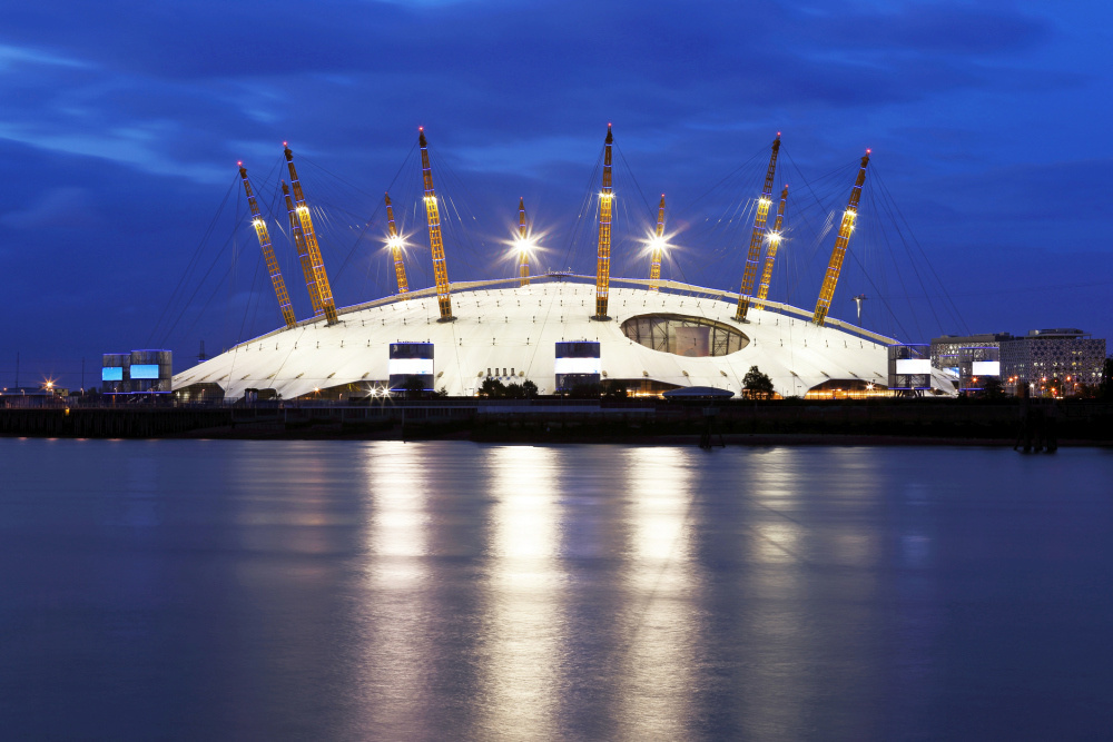 The O2 Arena, Getty Images