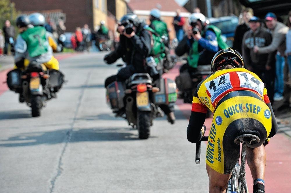 Stijn Devolder: 'Ik hield bewust een procentje of vijf over, voor de laatste tien kilometer richting Meerbeke.', BELGAIMAGE