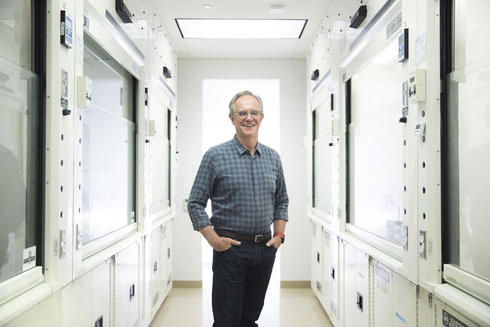 """ERIC VERDIN """"Lang leven wordt voor 93 procent bepaald door je omgeving, en slechts 7 procent door je genen."""", GF / JIM HUGHES"""