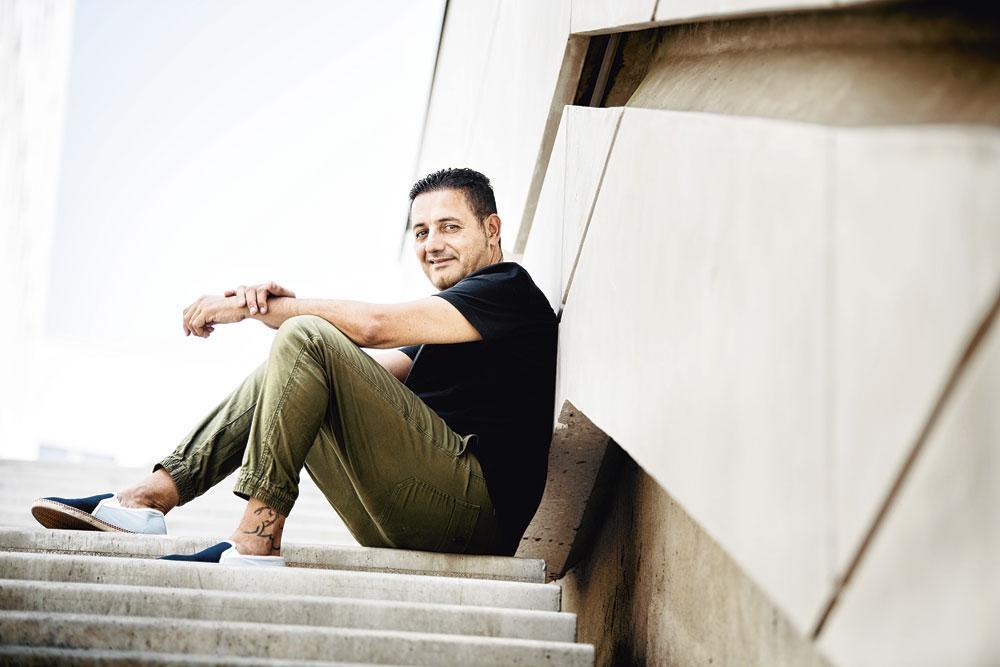 Hocine Bensaid, de oom van Samir Nasri: 'Samir werd te veel blootgesteld aan de vijandschap van sommige journalisten., belgaimage - christophe ketels