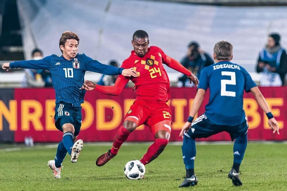 Christian Kabasele hoopt in juni op een selectie voor de nationale ploeg., BELGAIMAGE