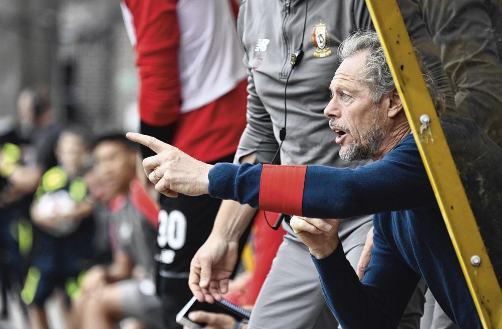 Michel Preud'homme est l'homme de la situation sur le banc., Le Standard version 2019-20 a de l'allure.