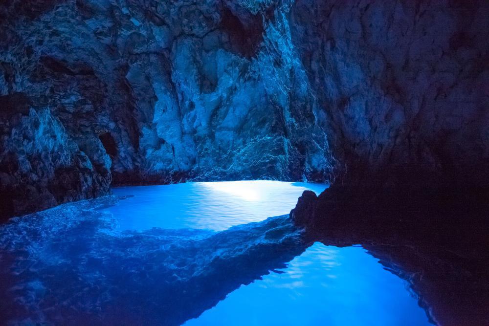 Bisevo Blue Grotto, Zoran Jelaca