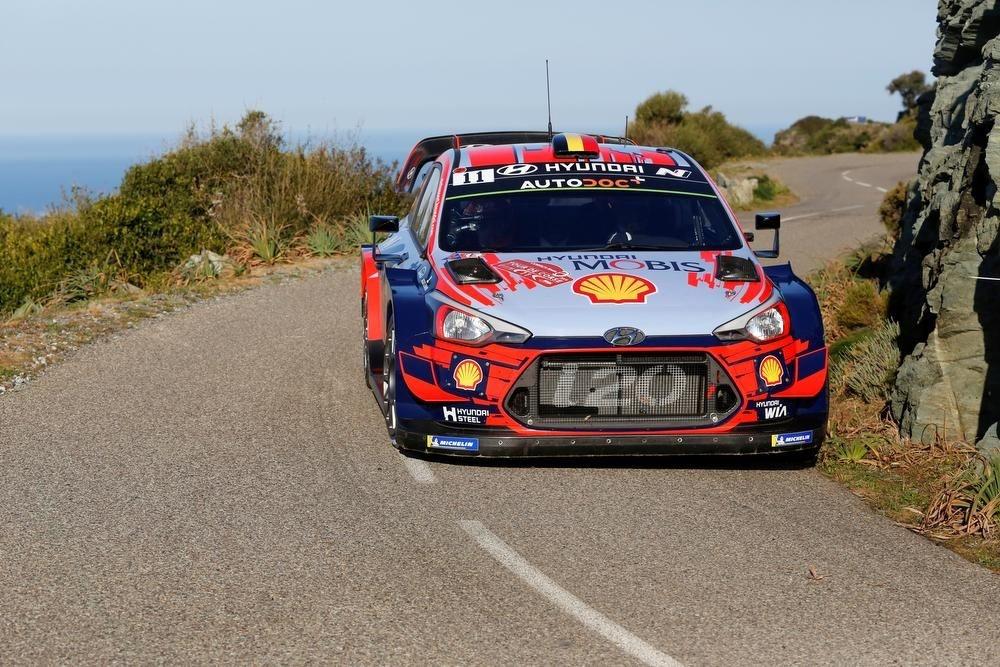 De Hyundai i20 coupé WRC zal voor het eerst in actie komen in België., GF