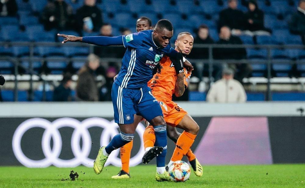 Landry Dimata bij Anderlecht: 'Vandaag voel ik mij prima in mijn vel. Ik ben niet meer dezelfde kerel als bij Wolfsburg.', DIEGO CRUTZEN