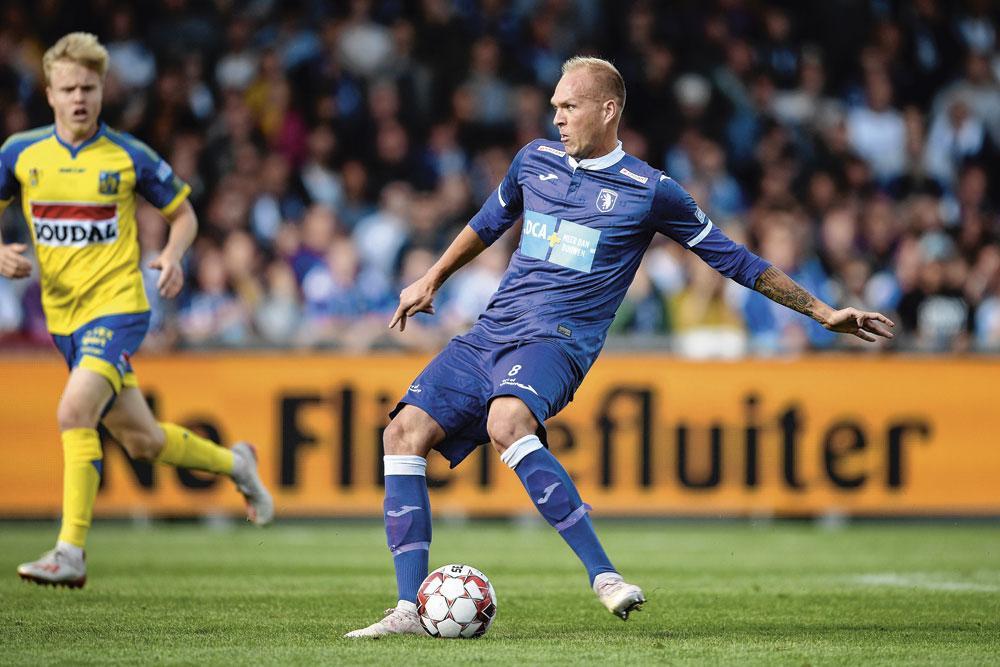 De Oostenrijkse middenvelder Raphael Holzhauser is een van de spelers die Beerschot strikte met een promotie in het achterhoofd., belgaimage - james arthur gekiere