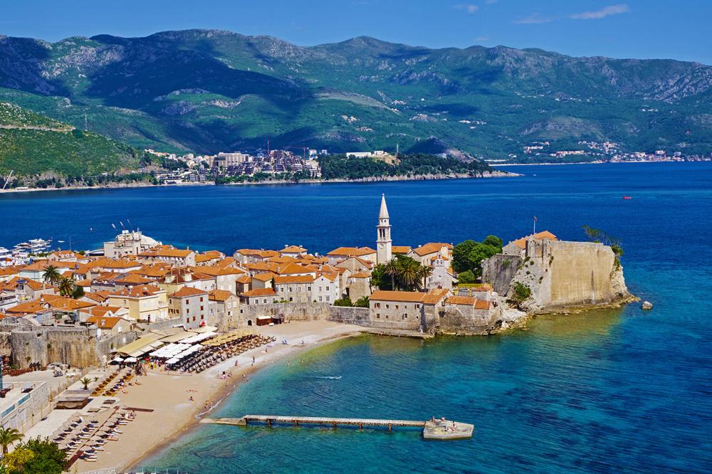 Plage de Saint Nicholas, Budva, Montenegro, Getty Images