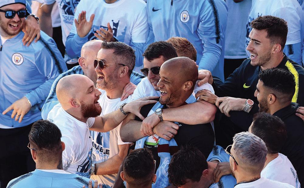 Vince the Prince, le héros absolu de Manchester City., BELGAIMAGE