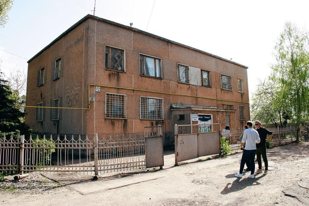 De jeugdacademie waar Roeslan tot zijn twaalfde werd opgeleid., christian vandenabeele