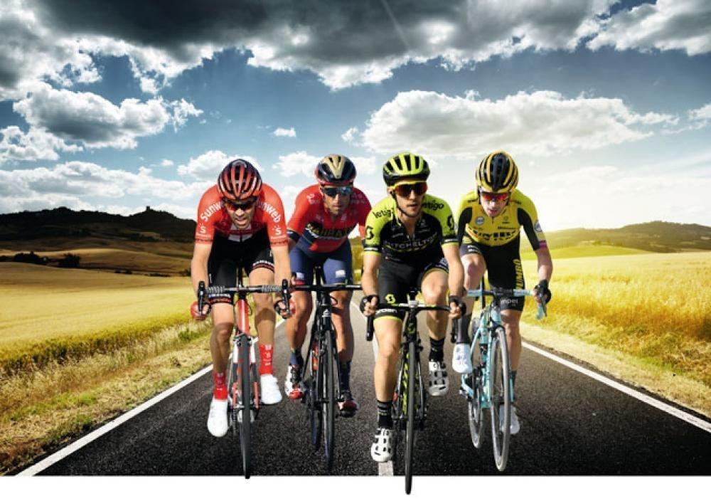 In de Giro, die op zaterdag 11 mei van start gaat, mogen we deze heren in de voorste gelederen verwachten: Tom Dumoulin, Vincenzo Nibali, Simon Yates en Primoz Roglic., GETTY IMAGES