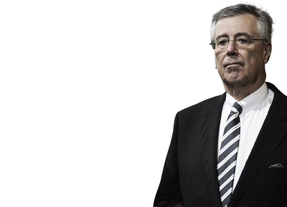 Melchior Wathelet, politicien CdH, figurait parmi les trois experts qui ont concocté le projet de règlement concernant les managers., BELGAIMAGE