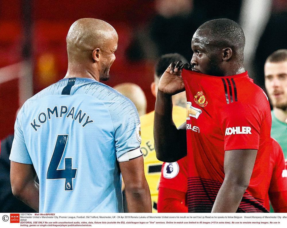 Het lijkt erop dat zowel Vincent Kompany (Anderlecht) als Romelu Lukaku (gelinkt aan Inter) uit Manchester vertrekken., belgaimage